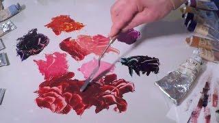 Alizarin Crimson Colour Mixing - Vasari Artists