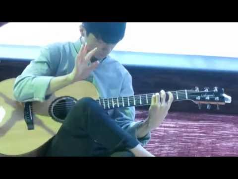 Sungha Jung - Flaming (1st Live in Cambodia)