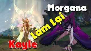 Kayle và Morgana sau khi làm lại toàn bộ hình ảnh và kỹ năng ✩ Biết Đâu Được
