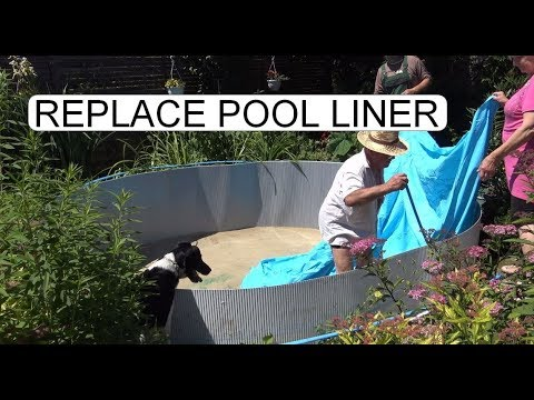 HOW TO REPLACE POOL LINER