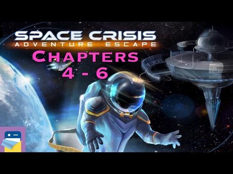 Adventure Escape Space Crisis: Chapters 4, 5, 6 Walkthrough & iOS iPad Air 2 Gameplay (Haiku Games)