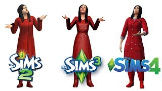 ♦ Sims 2 vs Sims 3 vs Sims 4 : Seasons - Spring