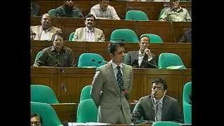 Andaleeve Rahman's 2nd Parliamentary speech. March 19, 2012