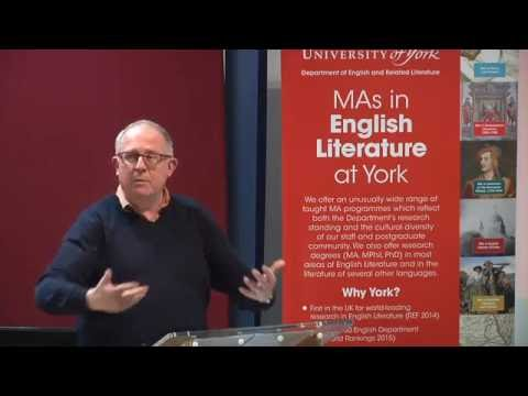 Studying English at York: Welcome