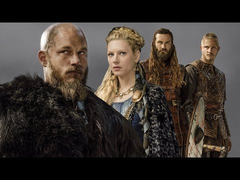 Vikings: Travis Fimmel, Katheryn Winnick, Clive Standen, Alexander Ludwig  - Comic-Con 2015