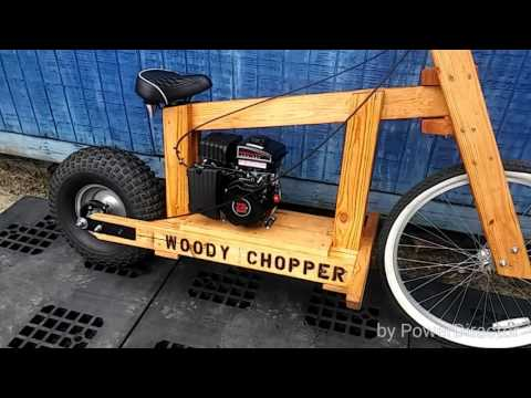 Wooden Motorcycle! The Woody Chopper!