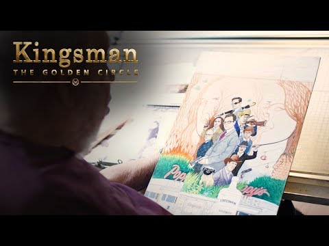 Kingsman: The Golden Circle | Al Jaffee Creates The Golden Foldin' | 20th Century FOX