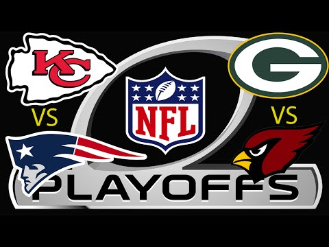 Madden 16: Chiefs vs Patriots & Packers vs Cardinals | Playoffs Game 1 & 2