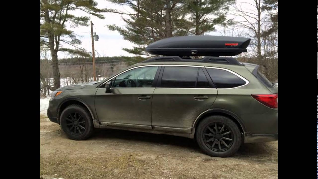 2016 Subaru Outback Wilderness Green Metallic