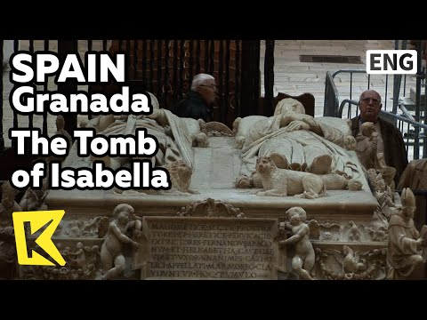 【K】Spain Travel-Granada[스페인 여행-그라나다]왕실 예배당, 역사상 가장 위대한 왕과 왕비의 무덤/The Tomb of Isabella