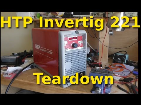 HTP Invertig 221 - TIG inverter teardown, design and build quality review