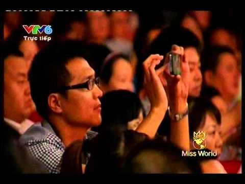 Hoa hậu thế giới 2012 - Chung kết - Tài năng - Hoa hau the gioi 2012