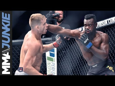 Uriah Hall credits latest victory to 'not giving a f*ck'