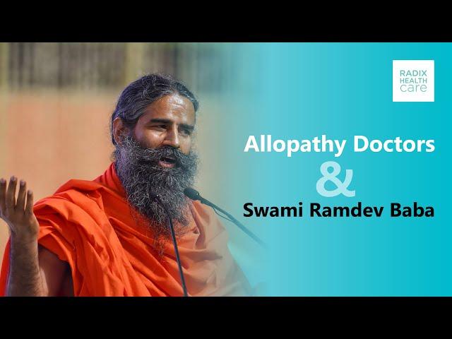 Oppose comments by Swami Ramdev on Allopathy, Dr. Shruti Malik on Aaj Tak