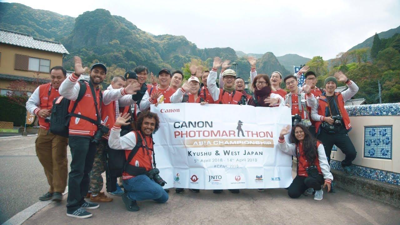 Canon PhotoMarathon Asia Championship 2018 in Western Japan