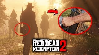 Red Dead Redemption 2 - NEW GAMEPLAY SECRETS! All New Images!  Walkthrough of Easter Eggs!