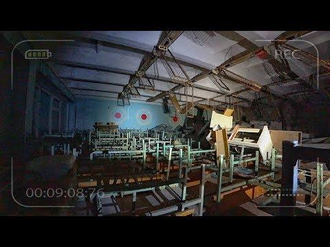 Оставил камеры в заброшенной школе в Чернобыле. Снял мутанта в Припяти