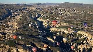 Balloon Flight over Cappadocia, Turkey in 4K (Ultra HD)