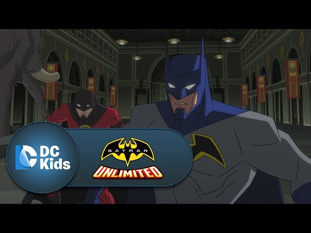 Fight Night at the Museum | Batman Unlimited | DC Kids