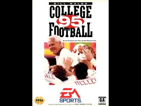 Bill Walsh College Football 95 (Sega Genesis) - Game Play