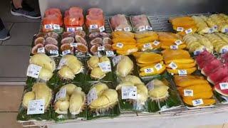 ЦЕНЫ на Фрукты ТАИЛАНД ПХУКЕТ Топ 5 фруктов Таиланд Пробуем фрукты в Таиланде