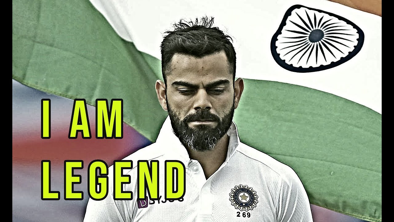 Virat Kohli  - I AM LEGEND (Motivational Video)