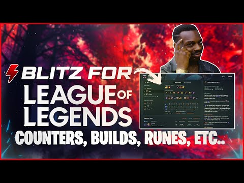 League of Legends- Blitz app auto runes/builds | 🕹 بيلد و رونز اوتوماتيك ليج اوف ليجندز