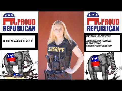 Republican Cop Officer Penoyer VS Democrat Muslim Thugs. REAL LIFE!