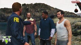 GTA 5 FIB Terrorism Heist! - GTA 5 Funny Moments Campaign