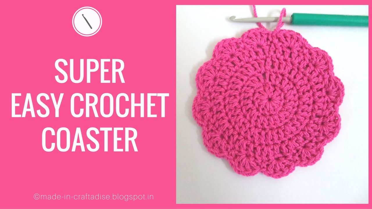 How to crochet a coaster easy crochet flower coaster tutorial how to crochet a coaster easy crochet flower coaster tutorial using circle bankloansurffo Choice Image