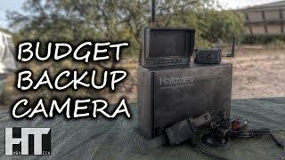 Wireless HD RV BACKUP CAMERA Kit - Installation Test And Review! HALOVIEW MC5111