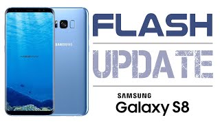 How to Update Flash SAMSUNG GALAXY S8 Android 8.0 Oreo  [OFFICIAL]