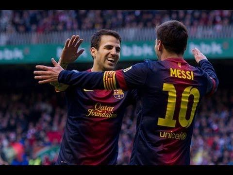 Athletic Bilbao Vs Barcelona 2-2   Full Match 27.04.2013 HD