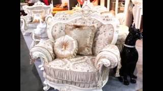 Мягкая мебель  Посейдон для гостиной в классическом стиле.(Мягкая мебель Посейдон для гостиной в классическом стиле. Представляем Вашему вниманию красивый комплект..., 2016-05-24T09:45:23.000Z)
