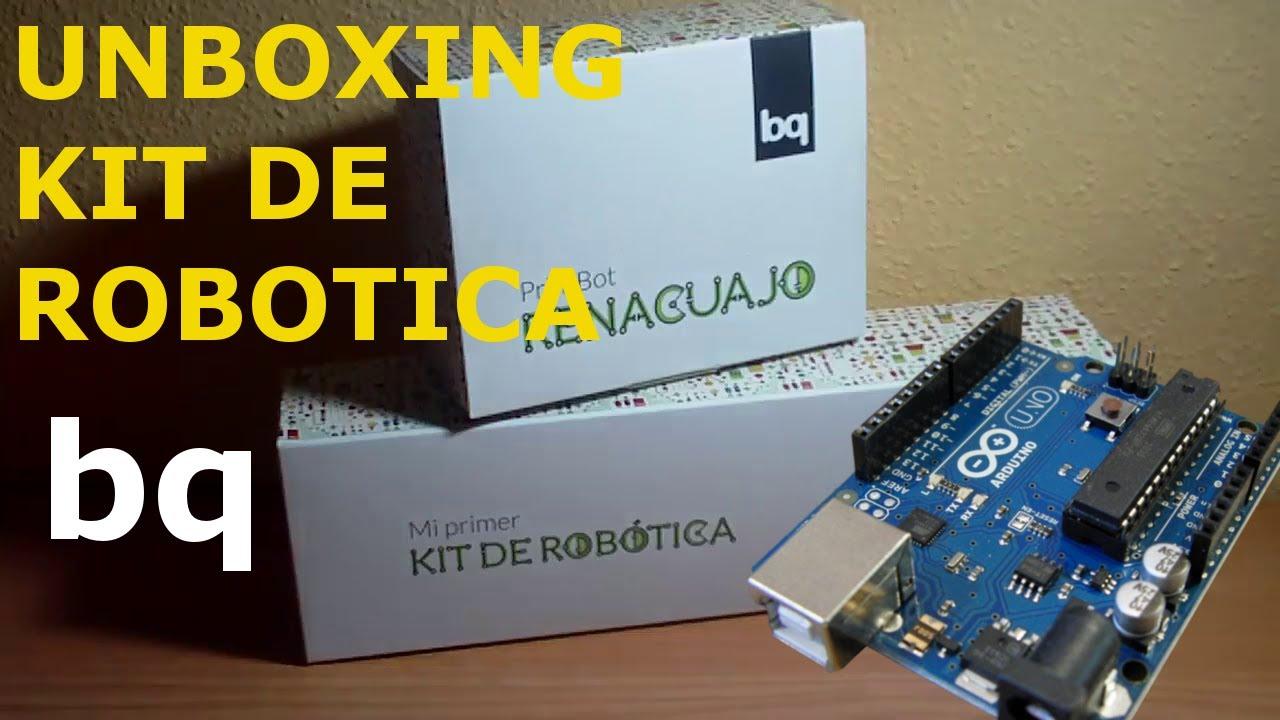 Unboxing kit de robótica bq arduino doovi