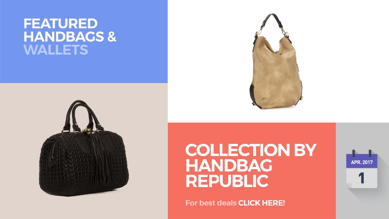 562d6f24f5 Collection By Handbag Republic Featured Handbags   Wallets - YouTube