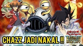 YUGIOH LOTD GX #9 - OJAMA LAWAN CHAZZ !!
