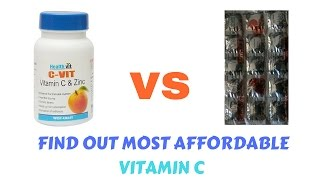 best vitamin c supplement / vitamin c tablets / vitamin c for skin lightening |HEALTHVIT C VS LIMCEE