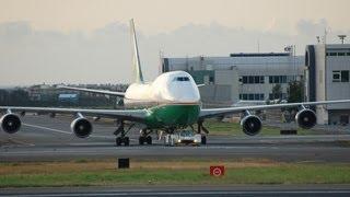 桃園機場聯絡道看飛機 Taiwan Taoyuan International Airport