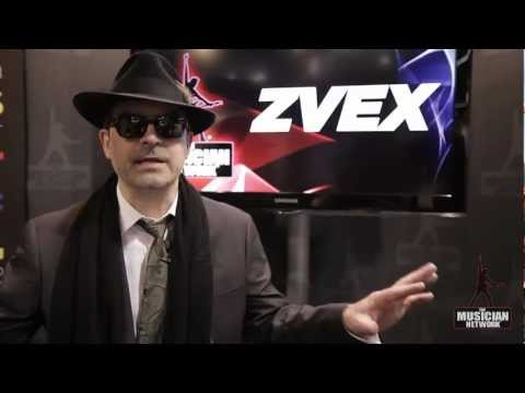 Zachary Vex - ZVex: NAMM 2012 Interview & Product Showcase