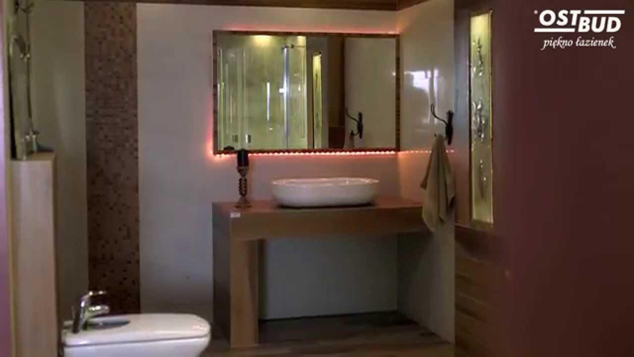 Piękno łazienek Ostbud Nysa łazienka Remont Kafelki Tubądzin Paradyż
