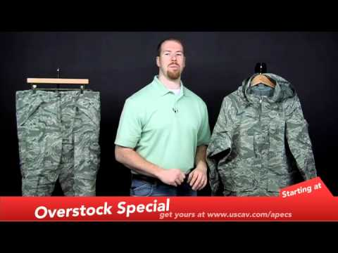 huge selection of 9f837 cd8b8 Propper Air Force ABU APECS GORE-TEX Parka and Pant by U.S. Cavalry