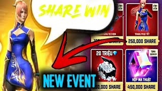 New Event - Share And Win Free Bundle, Magic Cube!! New CHARECTER !!  Updates- Garena Free Fire