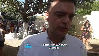 Ibicuitinga - Dep. Fernando Santana recebe título de cidadão e é recepcionado com Araiá dos Amigos