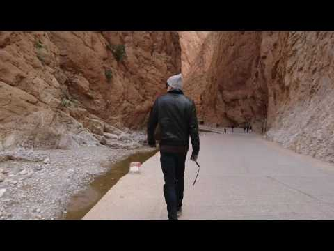Todgha Canyons, Morocco