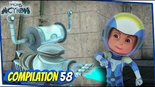 Vir Der Roboter-Junge | Animationsserie Für Kinder | Zusammenstellung 58 | WowKidz Aktion