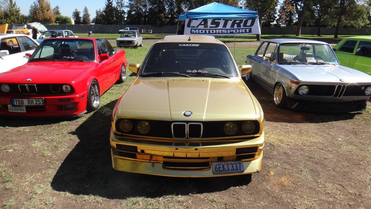 BMW Van Nuys >> SoCal Vintage BMW Car Meet 2013 @Woodley Park,Van Nuys,CA Bimmerfest Octoberfest Show - YouTube