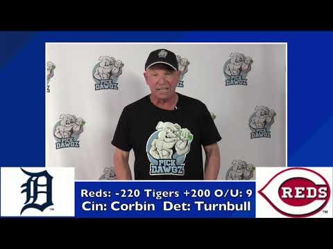 Cincinnati Reds vs Detroit Tigers Free Pick 7/26/20 MLB Pick and Prediction