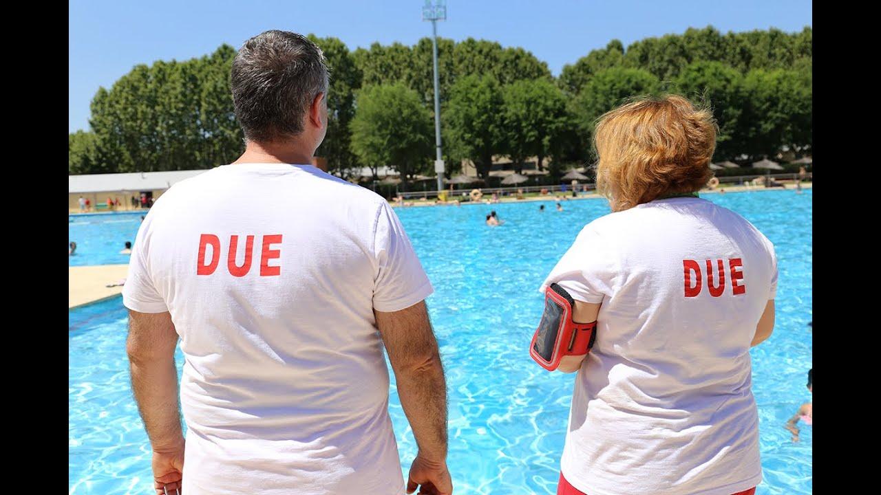 La enfermer a protagonista en las piscinas p blicas de for Piscina publica madrid