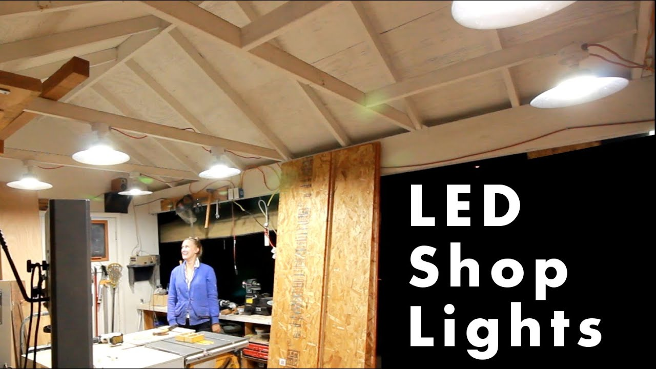 Adding 55 watt led lights to the shop youtube adding 55 watt led lights to the shop mozeypictures Images
